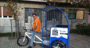 "TV REPORTAŽA PROJEKTA ""ECO BIKE TAXI"""