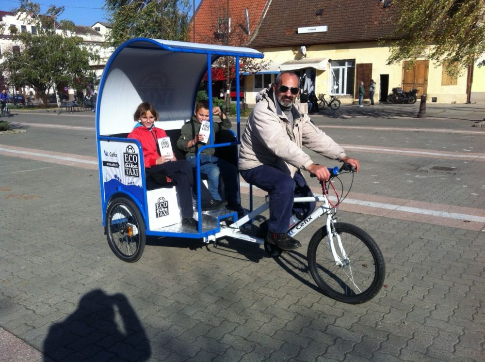 Promocija ECO BIKE TAXI