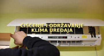 Čišćenje i održavanje klima uređaja