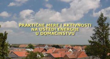 PRAKTIČNE MERE I AKTIVNOSTI NA UŠTEDI ENERGIJE U DOMAĆINSTVU