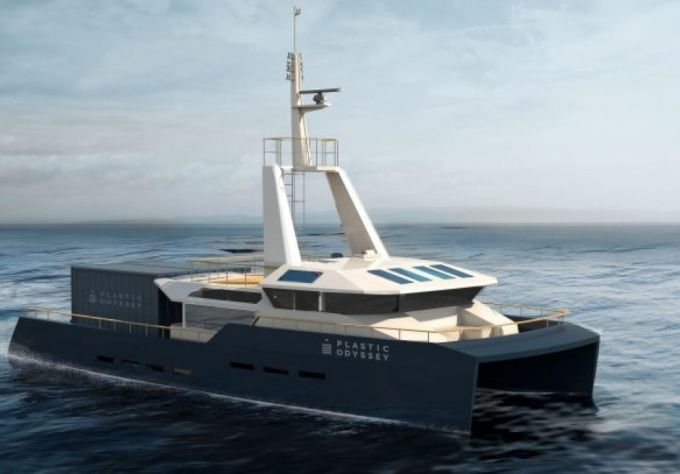 """Prvi brod koji će koristiti plastiku kao gorivo kreće na """"Plastičnu odiseju"""" 2020."""